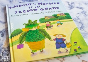 Back To School Book List- Nobody's Mother is in Second Grade