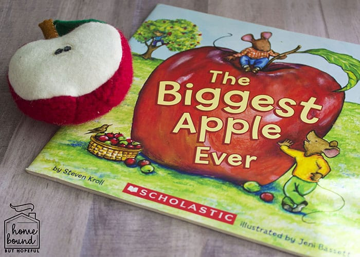 Apple Picking Story Time- The Biggest Apple Ever