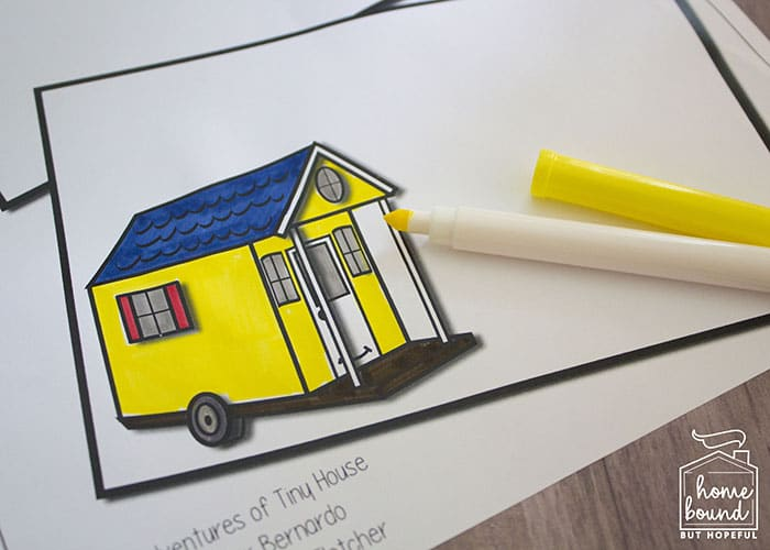 The Big Adventures of Tiny House Story Time- Drawing