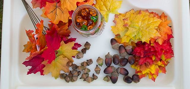 In The Middle of Fall Sensory & Snack Story Time