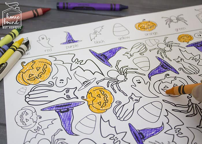 Halloween I Spy- Seek And Find Printable
