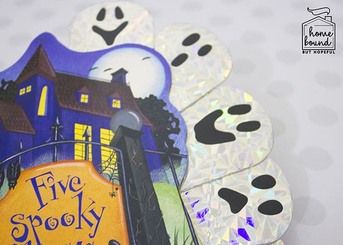 Halloween Counting Board Books- Five Spooky Ghosts