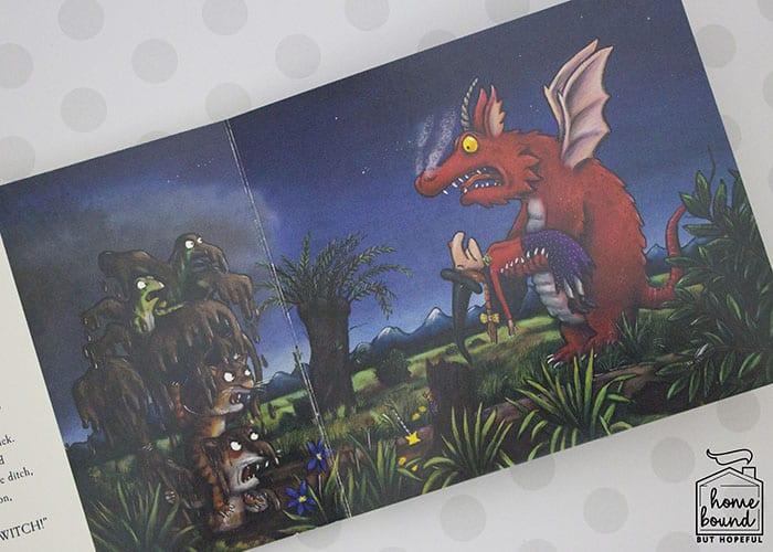 Room On The Broom Fine Motor Craft- Dragon