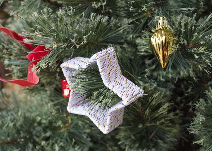 CHRISTMAS COOKIE STORY TIME KID MADE ORNAMENTS- TWINE
