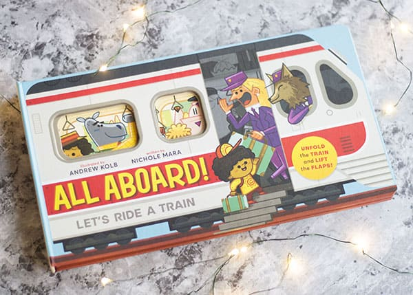 10 Kids Books To Give At Christmas- All Aboard!