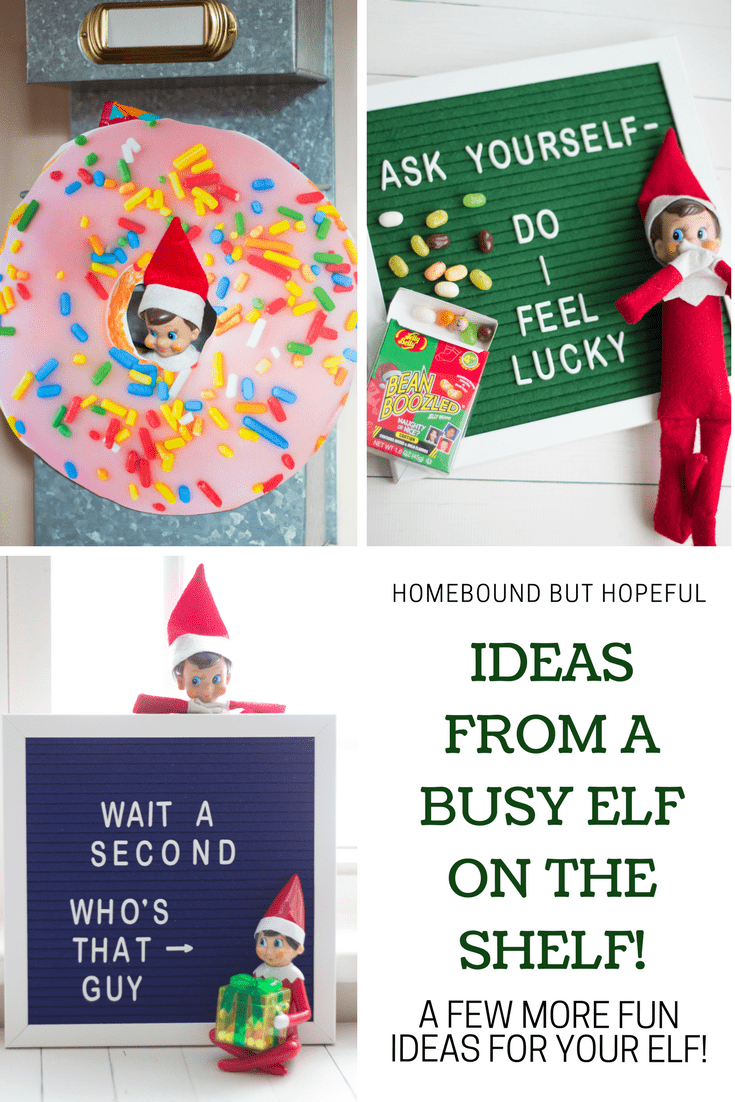 Our Elf On The Shelf Has Been Busy This Year! (New Ideas!)