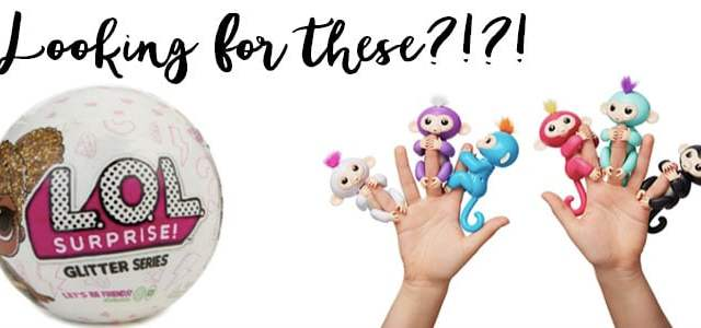 Looking For A Fingerling Or LOL Doll?! Surprise Giveaway!