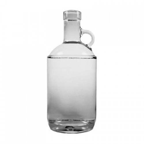 Moonshine Style Bottle with Cap 750ml