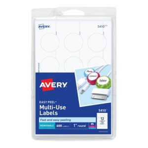photograph regarding Avery Printable Stickers referred to as Avery 5410 1 Spherical Printable Labels Outstanding sizing for