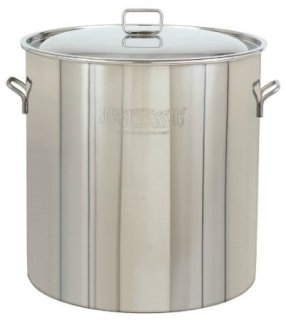Bayou Classic 1022 Stainless Steel Stockpot 122 Quart