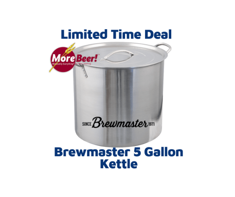 Brewmaster 5 Gallon Stainless Steel Kettle BE300