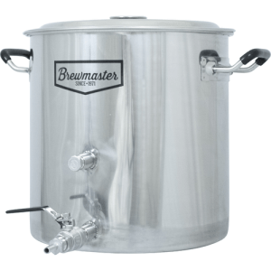 8.5 Gallon Brewmaster Stainless Steel Brew Kettle BE303