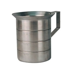 Winware 2-Quart Aluminum Measure