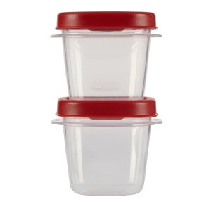 Rubbermaid Easy Find Lid Square 12 Cup Food Storage Container 2