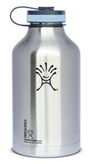 Hydro Flask Insulated Stainless Steel Wide Mouth Water Bottle and Beer Growler, 64-Ounce