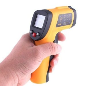 Digital Non-Contact Laser IR Thermometer -50C to 380C/ -58 °F to 716 °F Two Display