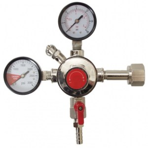 Dual Gauge CO2 Regulator - Fermentap