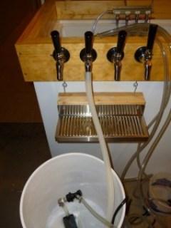 Recirculating Kegerator Draft Line Cleaning Pump