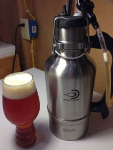 Hands On Review: DrinkTanks Growler and Keg Cap