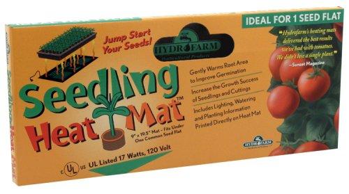 Hydrofarm MT10006 9-by-19-1/2-Inch Seedling Heat Mat