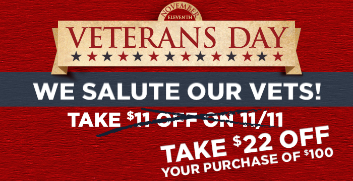 Midwest Supplies Veterans Day Sale