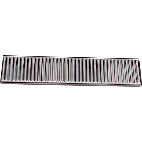 "Stainless Drip Tray 4"" x 19"" Countertop"