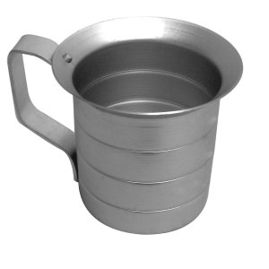 Thunder Group 4.0 Quart Liquid Aluminum Measure Cup