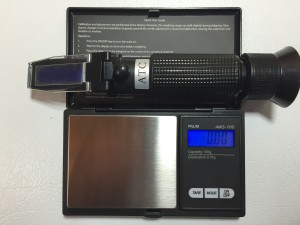 AWS 100 refractometer