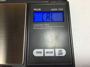 AWS-100 Calibration