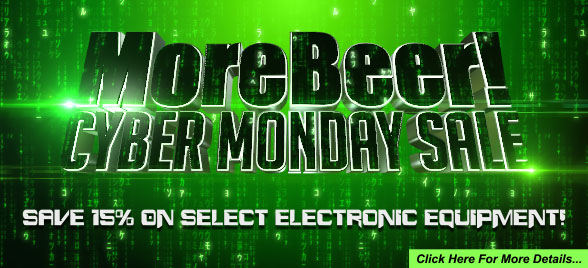 MoreBeer Cyber Monday Sale