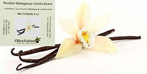 Premium Madagascar Vanilla Beans 1/4 lb (26-30 beans) JR Mushrooms Brand