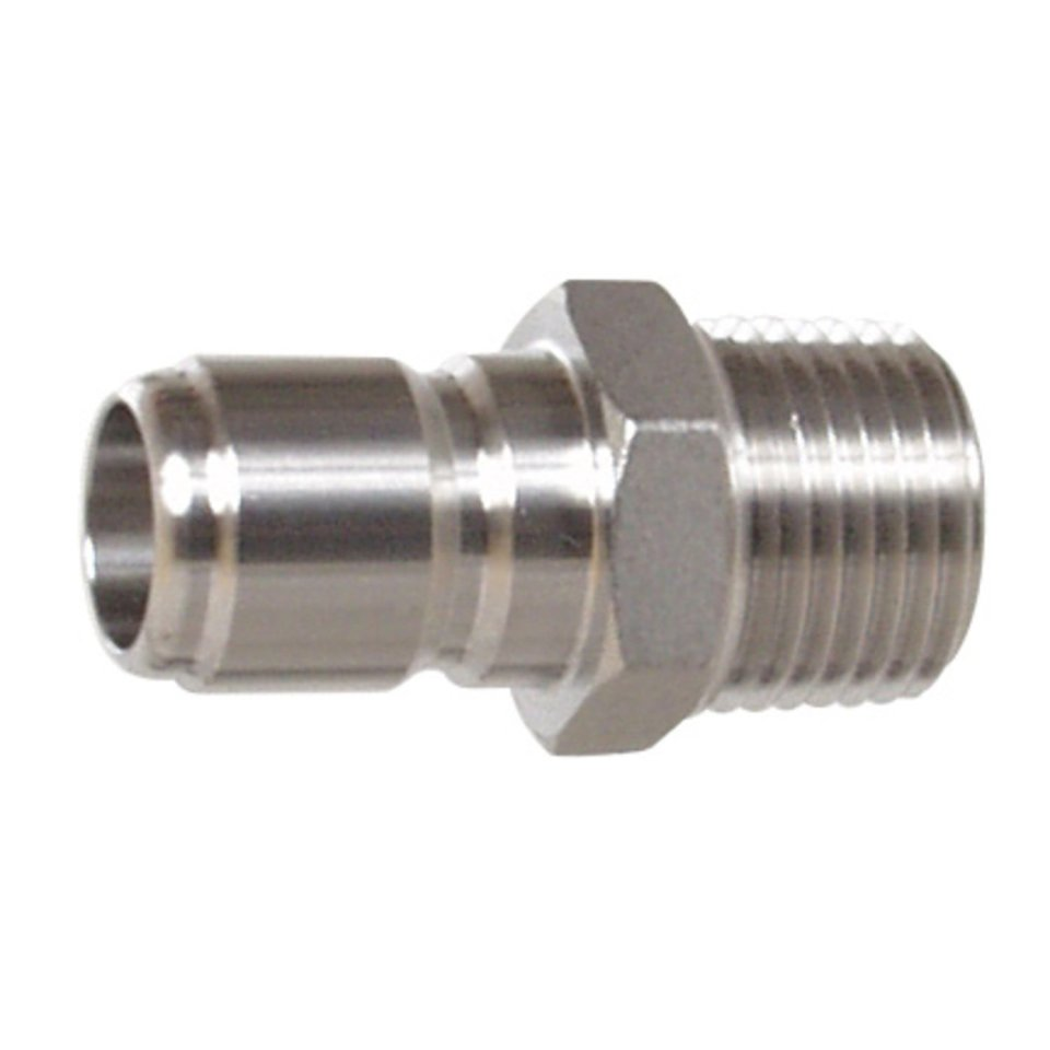 Stainless Steel Male Quick Disconnect MPT