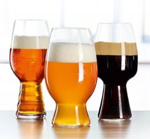 Spiegelau craft beer tasting set includes ipa stout and for Craft brew beer tasting glasses