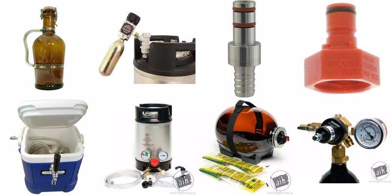 Portable Homebrew Keg Options