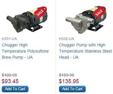 Chugger Pumps