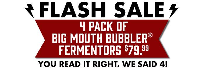 Big Mouth Bubbler Fermenters Midwest Supplies