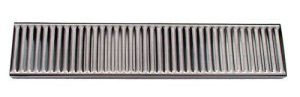 Update International DTS-419 Rectangular Stainless Steel Drip Tray, 19 by 4-Inch