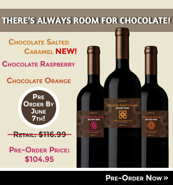 Chocolate Wine Pre-Order Sale