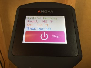 Review Anova Sous Vide for Homebrew