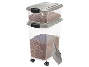 IRIS 301126 Pet Food Storage Combo