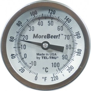 """Dial Thermometer (3"""" Face x 6"""" Probe)"""