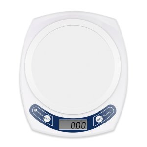 Etekcity 15lb/7kg Digital Kitchen Food Scale, 0.01oz Resolution, White