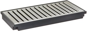 """Wilbur Curtis Plastic Drip Tray, 8"""" - Easy-to-Clean Food Service and Restaurant Drip Tray - DTP-08 (Each)"""