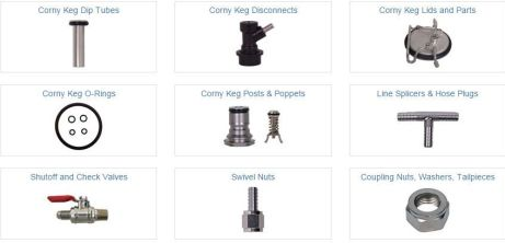 discount corny keg repair parts