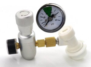 0-60psi Home Brew Premium Regulated Co2 Charger Kit with Gas Disconnect