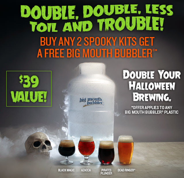 Buy 2 Kits, Get a Free Big Mouth Bubbler