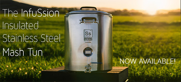 Insulated Stainless Steel Mash Tuns Are In Stock!