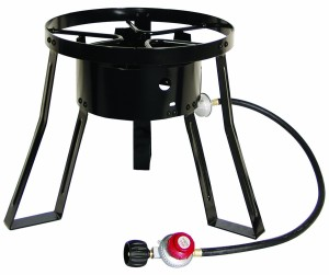 Masterbuilt MB15 15-Inch LP Cooker Stand with Cast Iron Burner