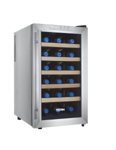 Titan TT-CWCTEFS18SZ 18 bottle Thermoelectric Wine Cooler