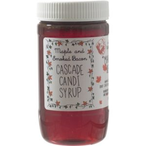 maple bacon smoked candi syrup